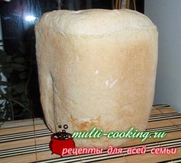 Рецепт самого простого хлеба в хлебопечке или в духовке