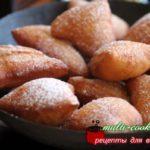Мандаци — африканские пончики рецепт с фото