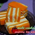 Тыквенно творожный десерт без выпечки